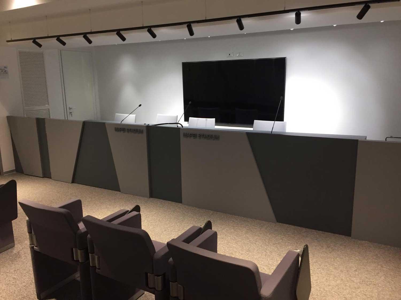 lip illuminazione per sala conferenze mapei stadium reggio emilia