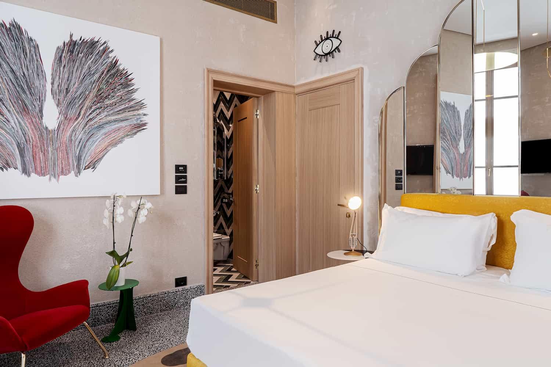 illuminazione per hotel Calimala Firenze